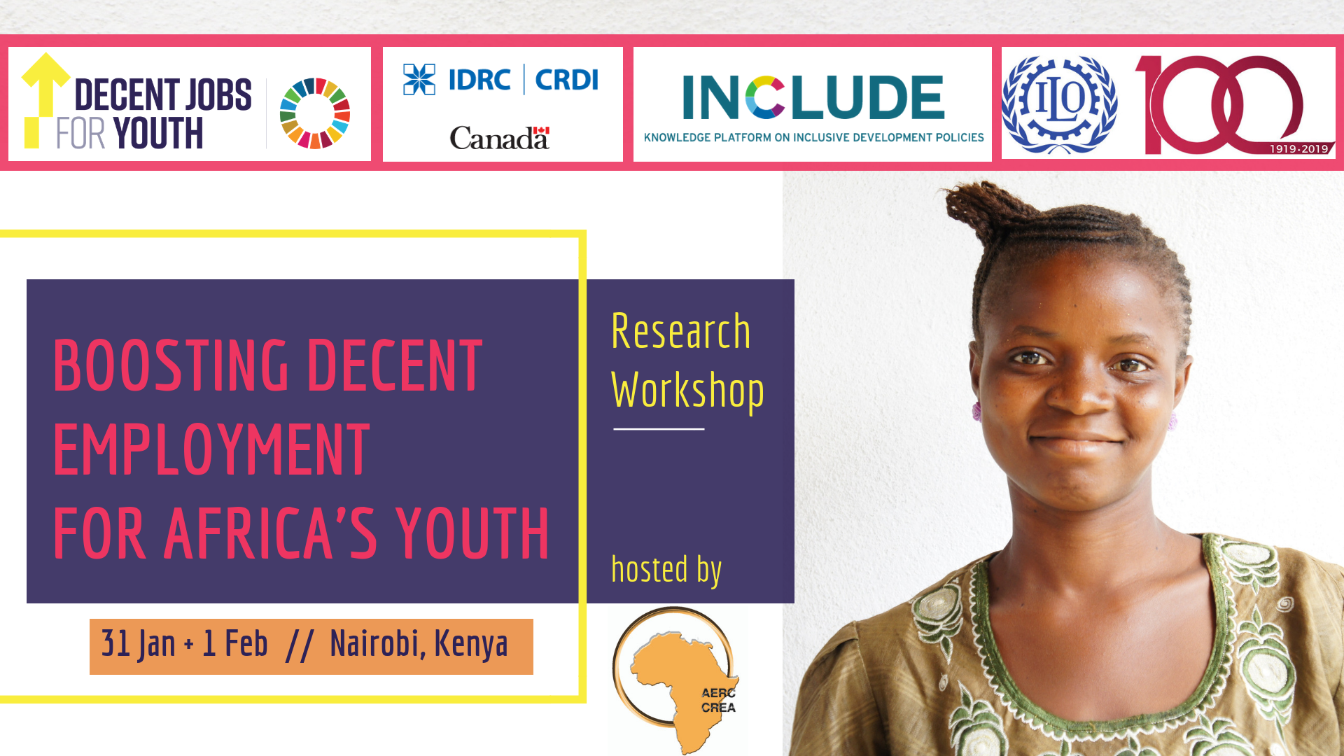 "Research Workshop on ""Boosting Decent Employment for Africa's Youth"""