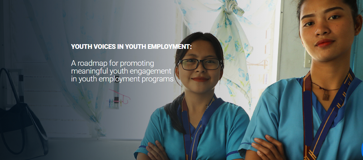 Youth Voices in Youth Employment: A roadmap for promoting meaningful youth engagement in youth employment programs