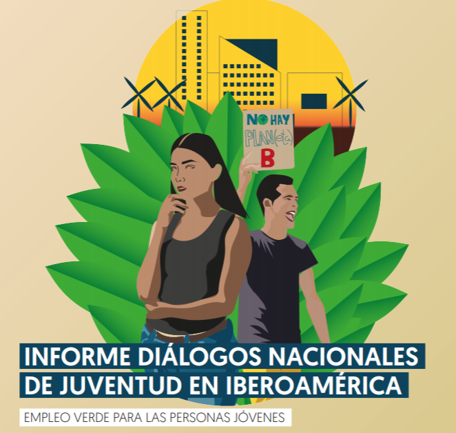 Informe diálogos nacionales de juventud en Iberoamérica