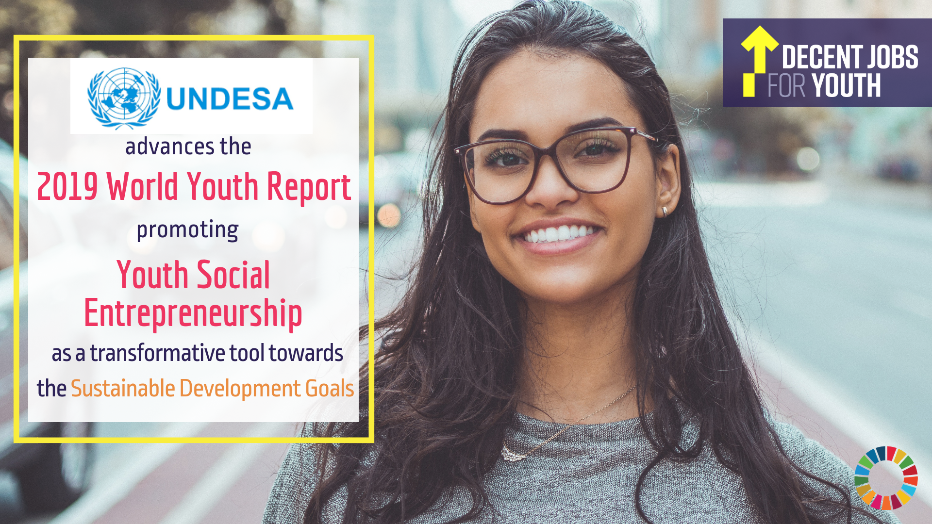UN DESA commits to Decent Jobs for Youth to advance social entrepreneurship toward the SDGs